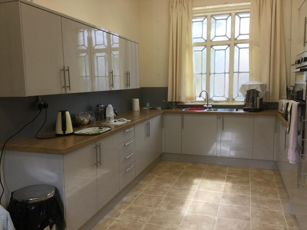 New Kitchen Completed at Community Centre, Llanwrtyd Wells Station