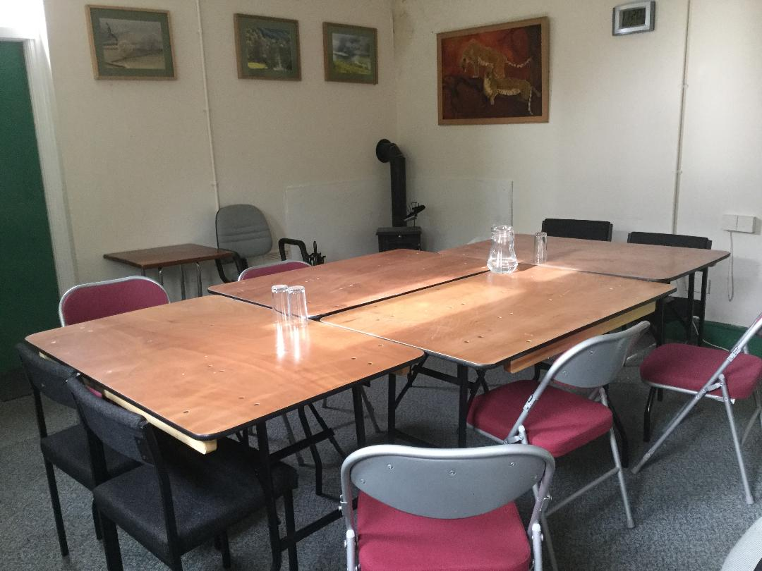 Meeting Rooms Available at the Community Centre, Llanwrtyd Wells Station