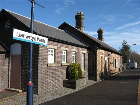 LWCT takes over the buildings at Llanwrtyd Wells Railway Station