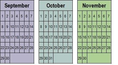 September-October-November 2020