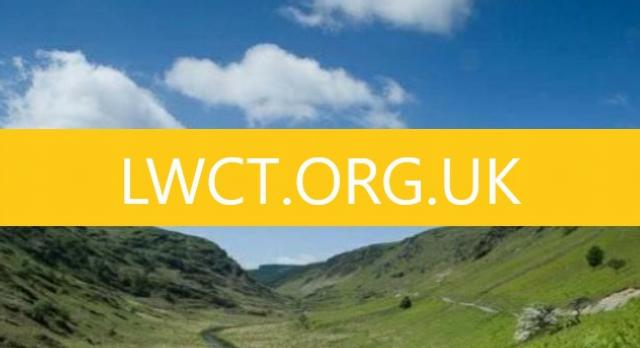 How did we develop our new website – LWCT.ORG.UK?