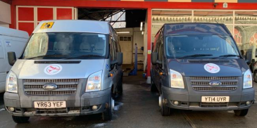 New vehicles, new volunteers, COVID-19 vaccination appointments